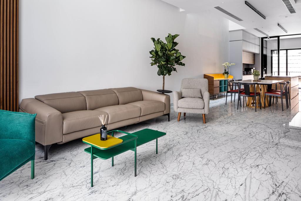 Contemporary, Landed, Living Room, Simon Walk, Interior Designer, The Scientist