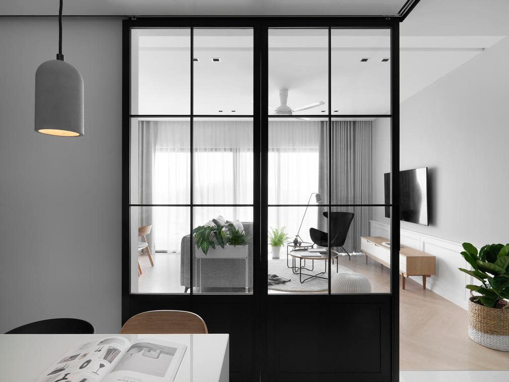 Modern, Condo, Cloudtree Residence, Cheras, Interior Designer, PINS Studio, Scandinavian