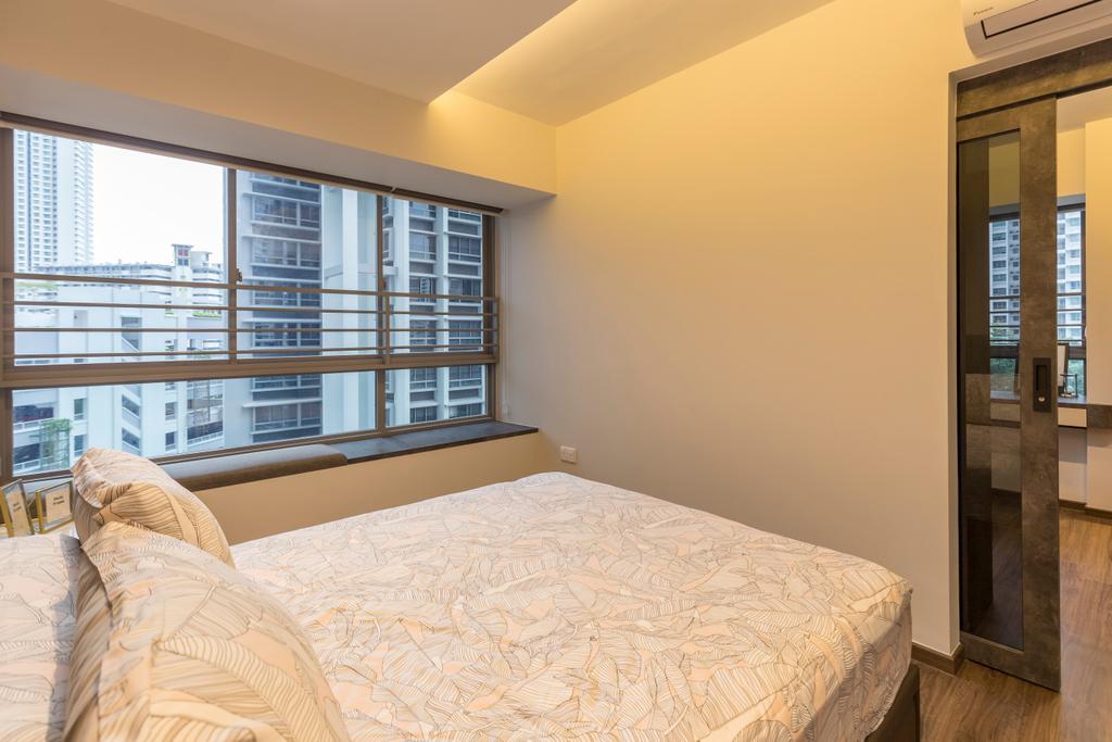 Contemporary, HDB, Bedroom, Lorong 1A Toa Payoh, Interior Designer, The Makers Design Studio