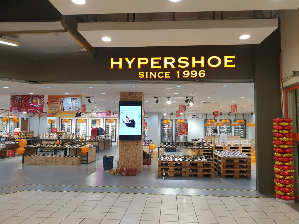 Hypershoe, AEON Kepong, Commercial, Interior Designer, Loft + 7 Studio, Industrial