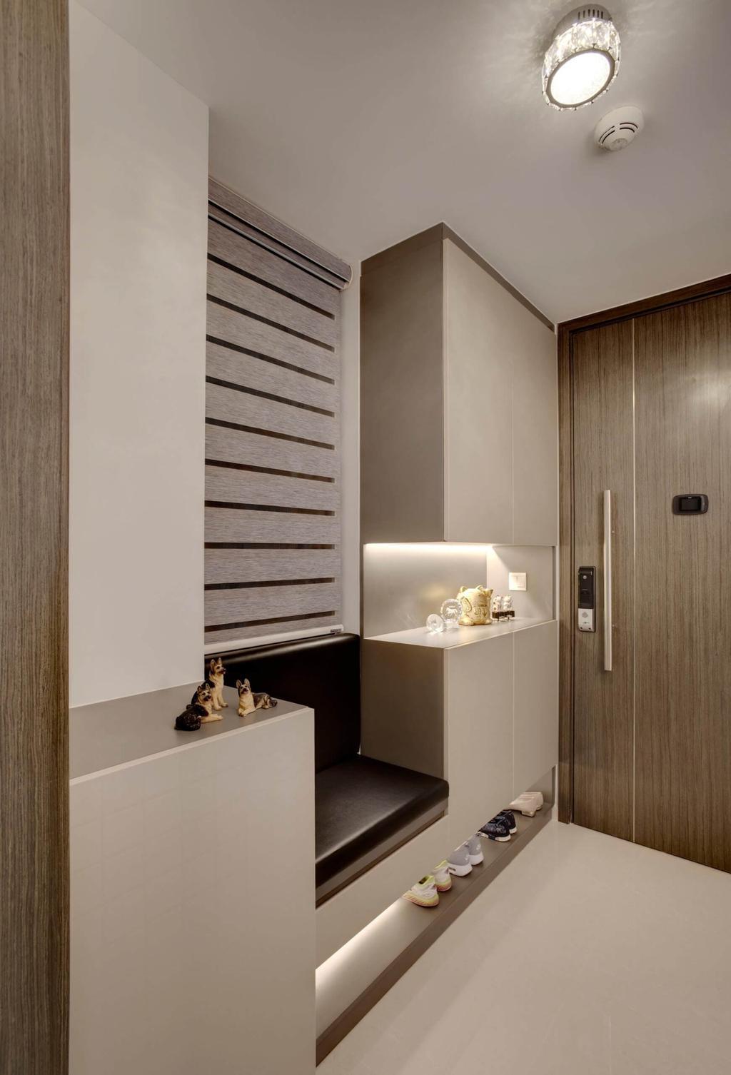 Modern, Condo, Living Room, Riverbank, Interior Designer, Space Factor