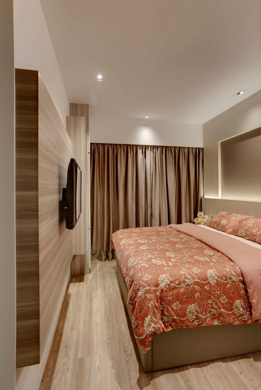 Modern, Condo, Bedroom, Riverbank, Interior Designer, Space Factor
