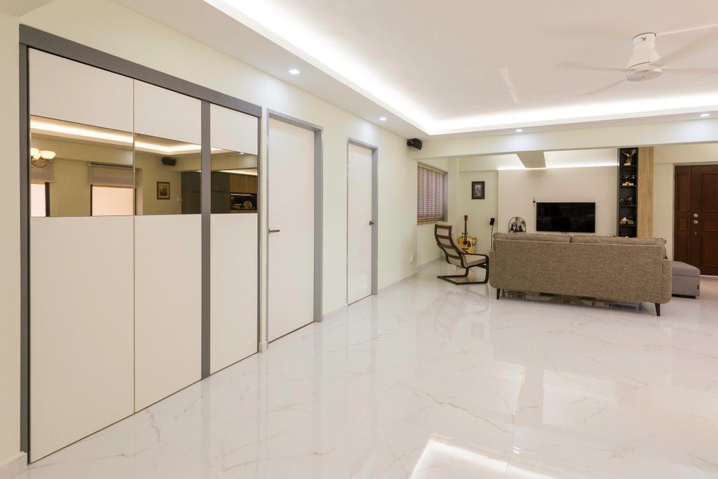 Transitional, HDB, Choa Chu Kang Avenue 2, Interior Designer, Seven Heaven, Modern