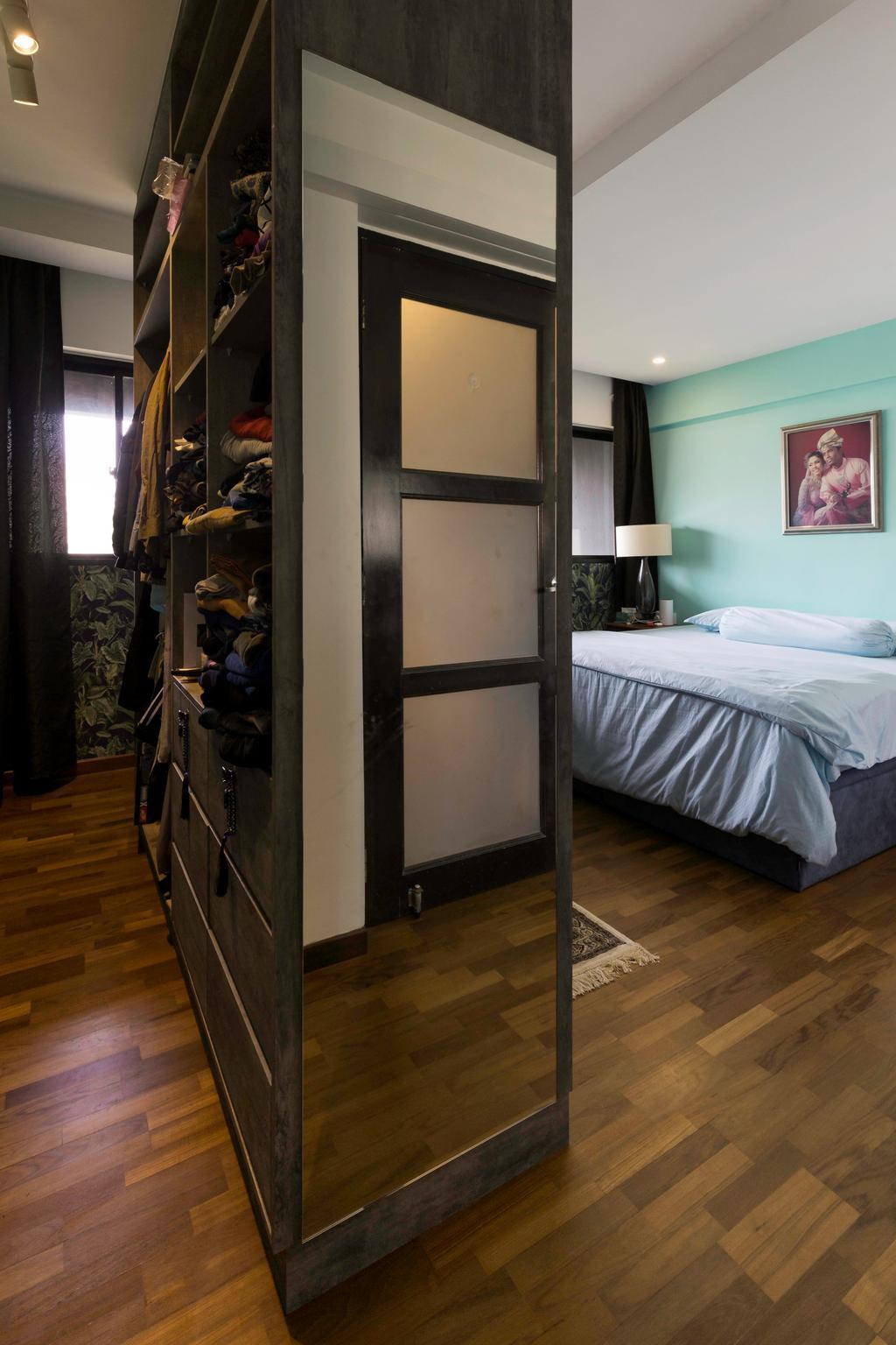 Eclectic, HDB, Bedroom, Bedok Reservoir Road, Interior Designer, Seven Heaven