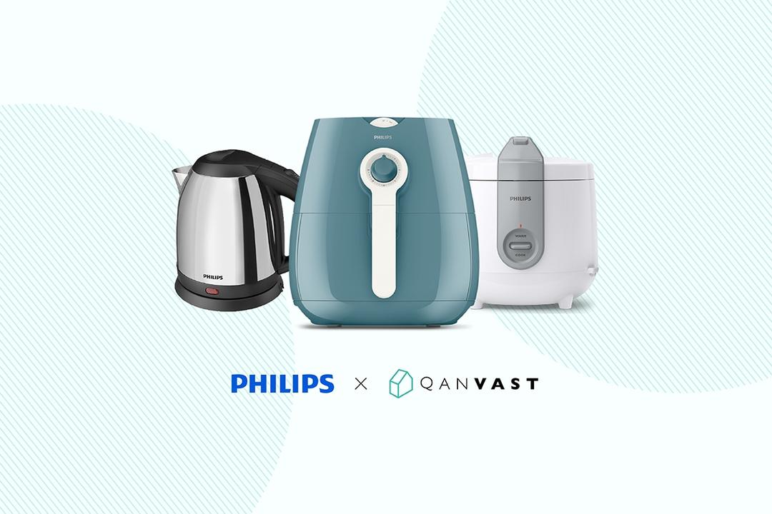 Redeem a Qanvast Home Starter Pack with Philips worth $400
