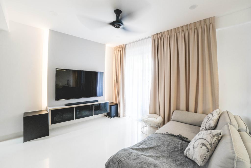 Contemporary, Condo, Living Room, The Eastside, Interior Designer, Archive Design, Minimalistic