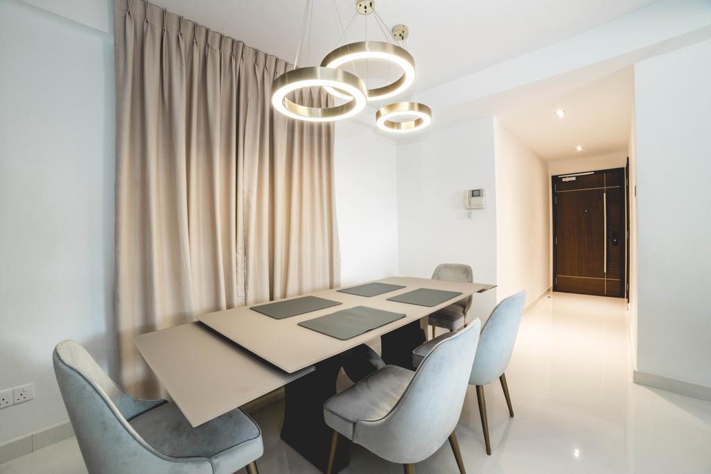 Contemporary, Condo, Dining Room, The Eastside, Interior Designer, Archive Design, Minimalistic
