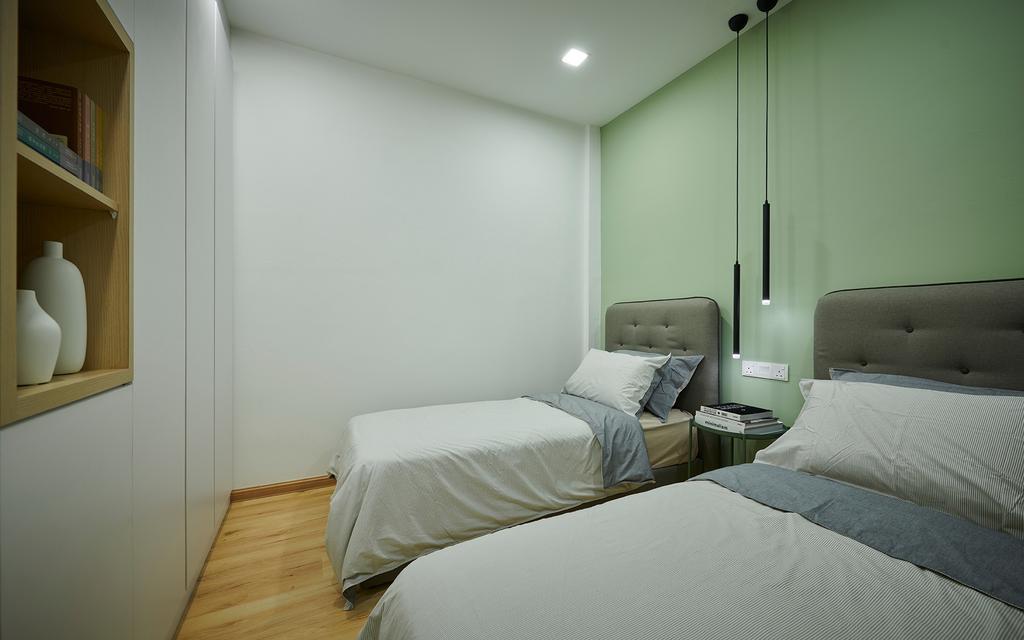 Scandinavian, Condo, Bedroom, Park View Court, Melaka, Interior Designer, LoHC studio