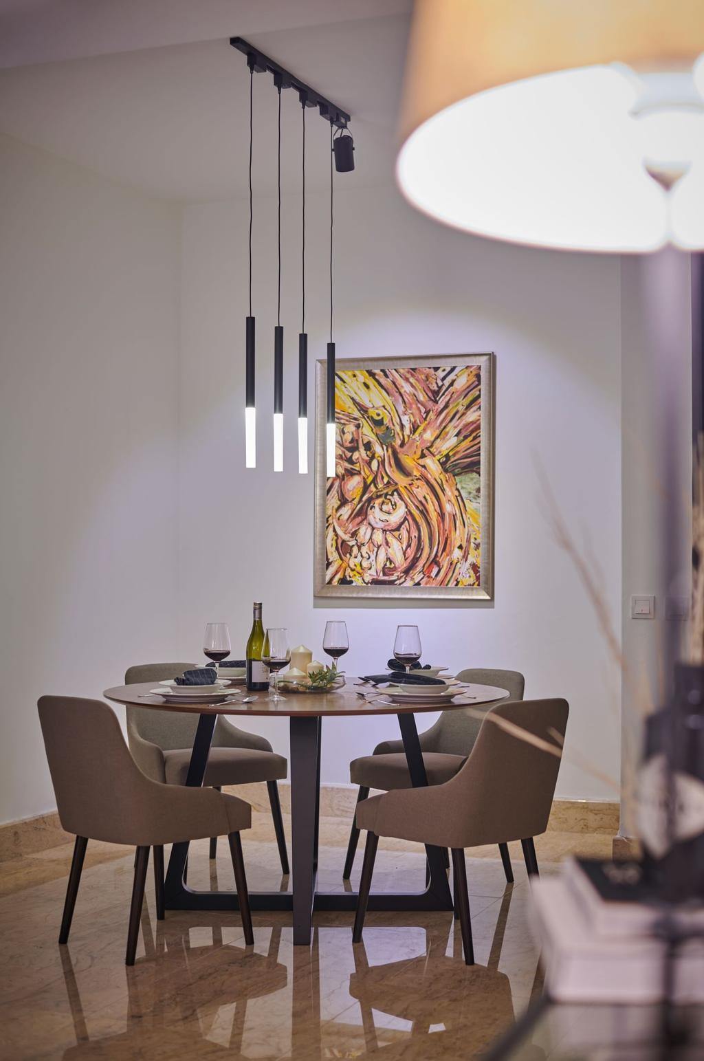 Contemporary, Condo, Dining Room, Sri Penaga, Bangsar, Interior Designer, LoHC studio