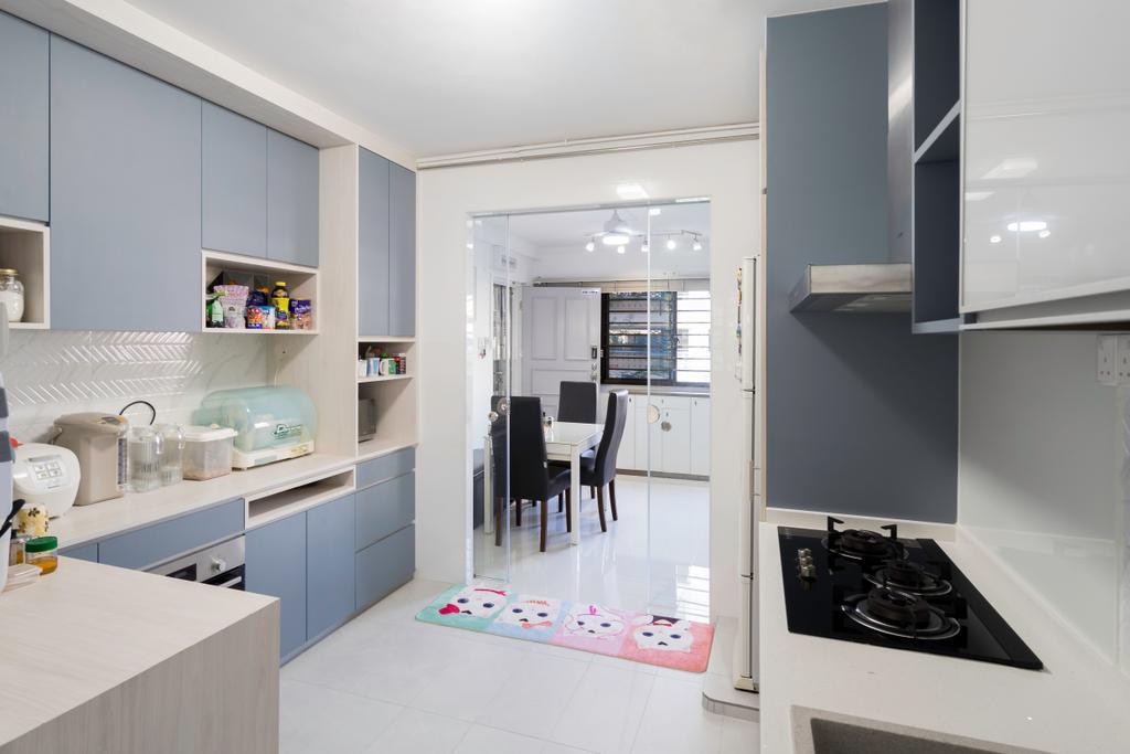 Modern, HDB, Kitchen, Yishun Central 1, Interior Designer, Style Living Interior