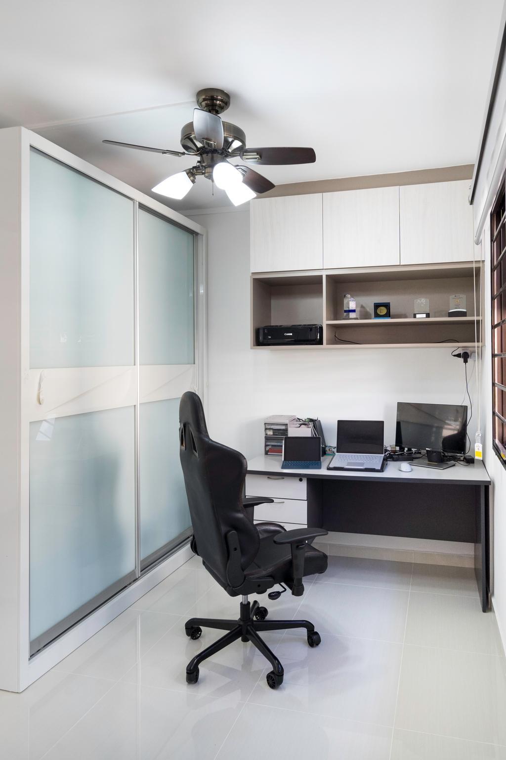 Modern, HDB, Study, Yishun Central 1, Interior Designer, Style Living Interior