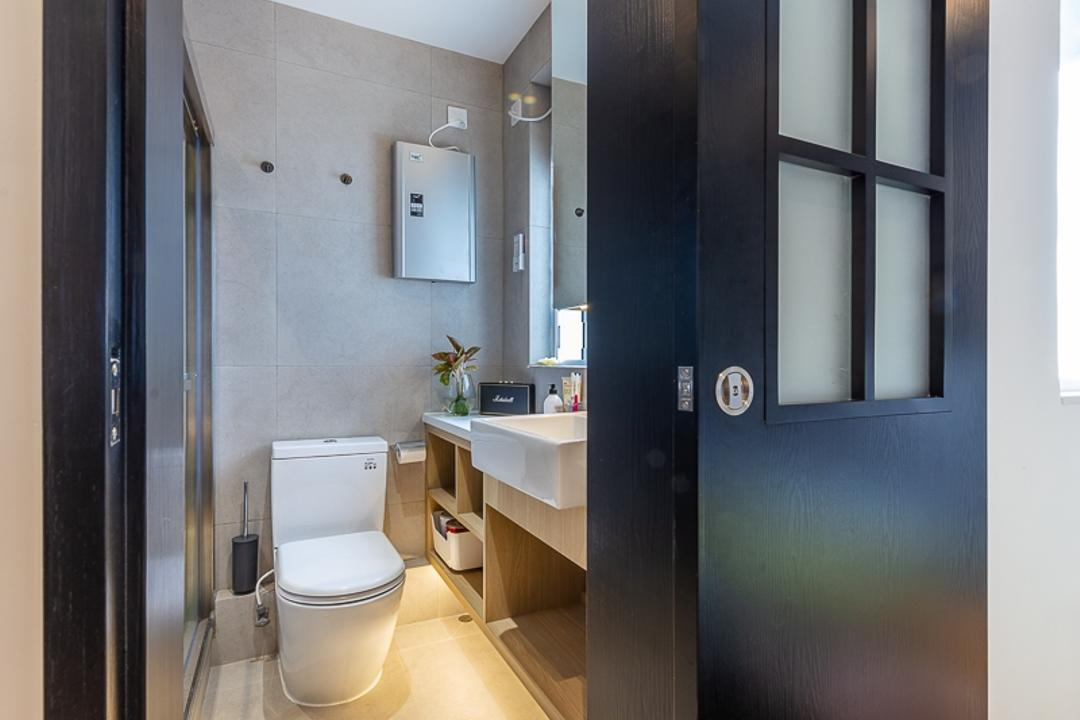 觀塘樂意園, am PLUS, 過渡時期, 浴室, 私家樓