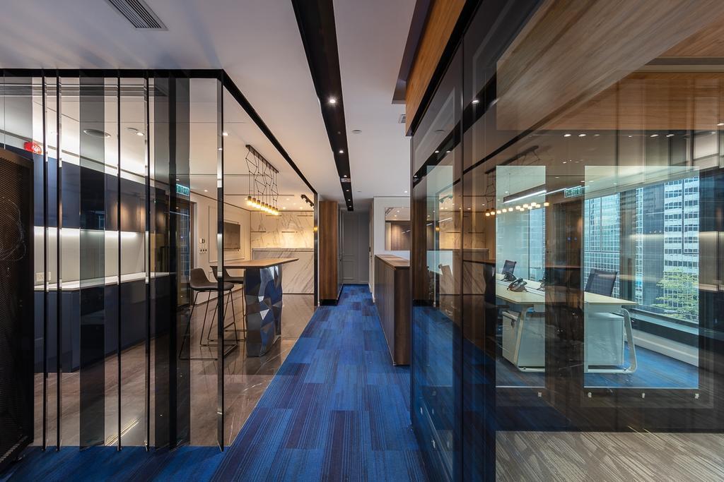 灣仔告士打道辦公室, 商用, 室內設計師, am PLUS, 北歐, 當代