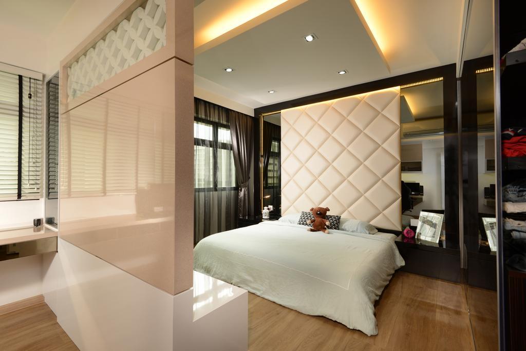 Contemporary, HDB, Bedroom, Hougang Avenue 9, Interior Designer, Darwin Interior