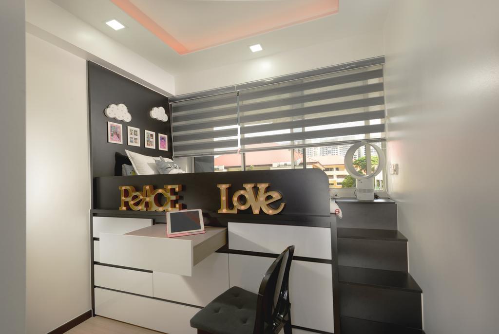 Modern, Condo, Bedroom, Lake Life, Interior Designer, Darwin Interior