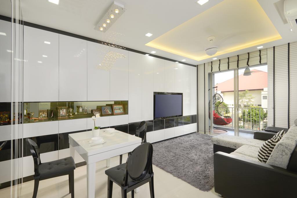 Modern, Condo, Living Room, Lake Life, Interior Designer, Darwin Interior