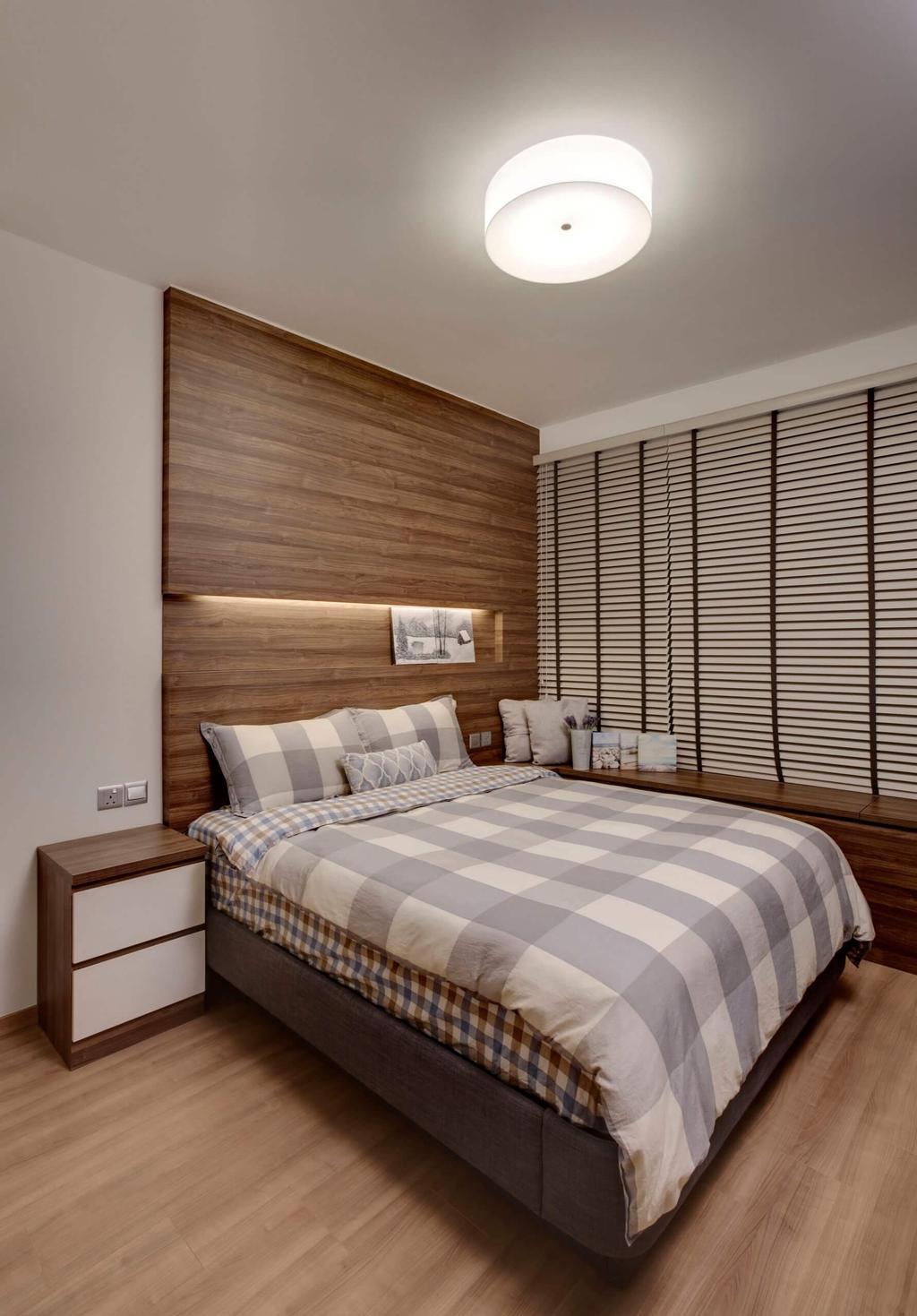 Minimalistic, Condo, Bedroom, Blossom Residences, Interior Designer, Space Factor, Modern