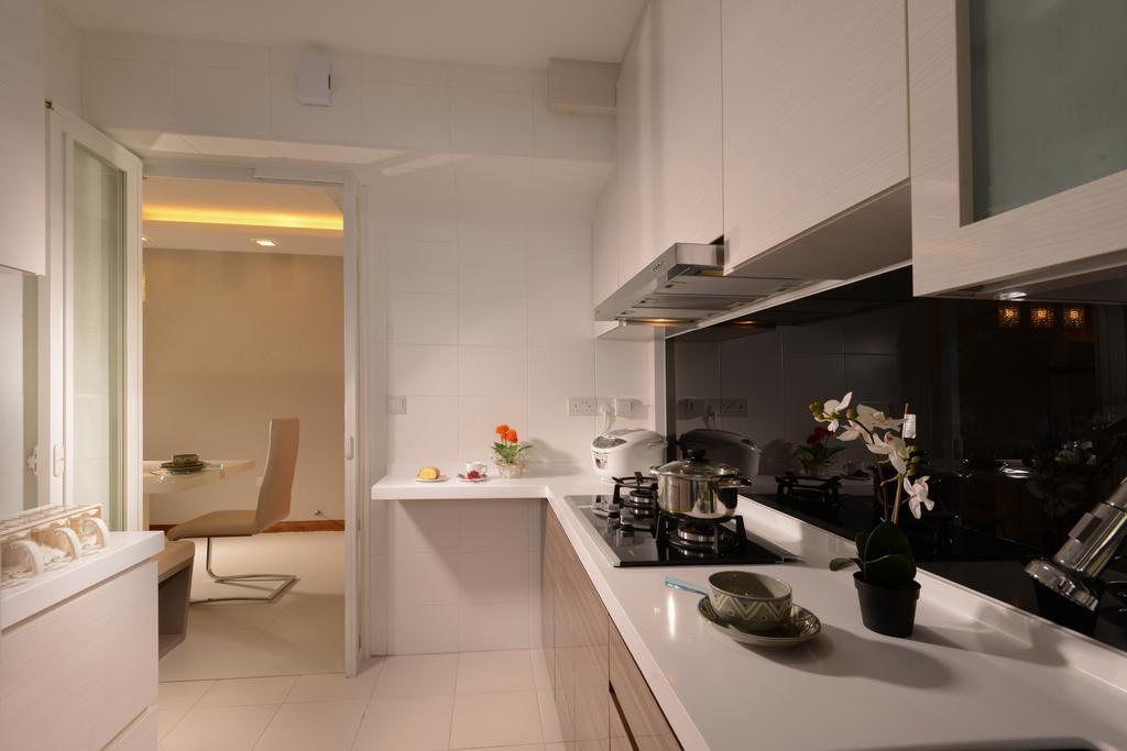 Modern, HDB, Kitchen, Tampines Central 7, Interior Designer, Darwin Interior