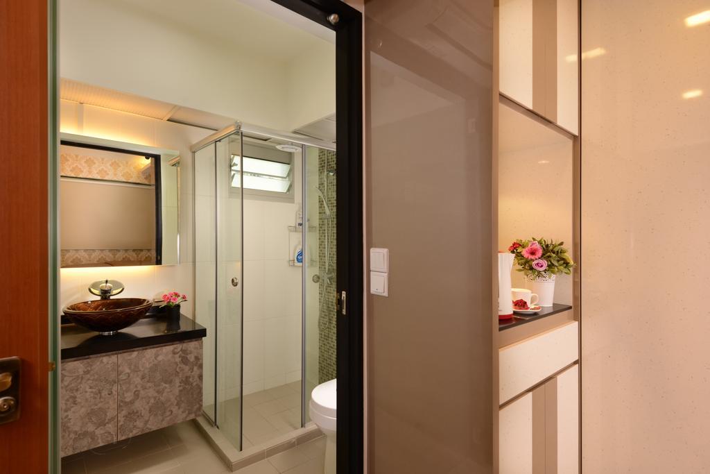 Modern, HDB, Bathroom, Tampines Central 7, Interior Designer, Darwin Interior