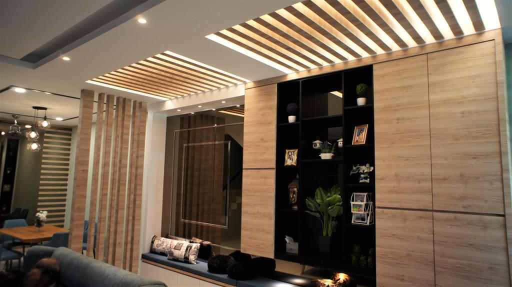 Modern, Landed, Le Greene, Tambun Perak, Interior Designer, Red Land Design