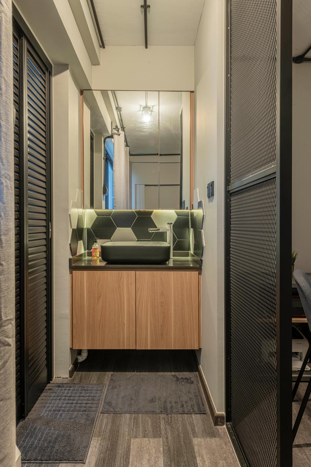 Contemporary, HDB, Bathroom, Serangoon North Avenue 1, Interior Designer, Stylemyspace