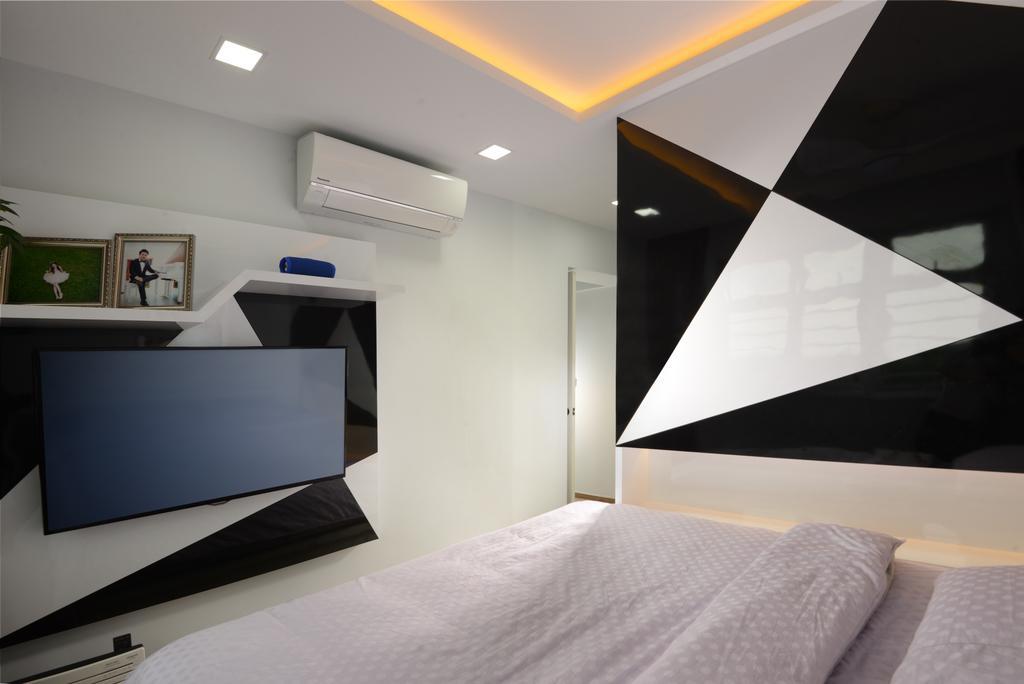 Modern, HDB, Bedroom, Canberra Street, Interior Designer, Darwin Interior