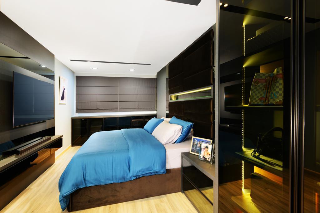 Modern, HDB, Bedroom, Yishun Street 21, Interior Designer, Darwin Interior