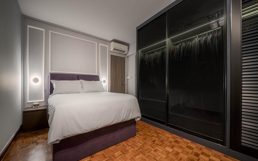 Contemporary, HDB, Bedroom, Serangoon Central, Interior Designer, Zenith Arc, Modern