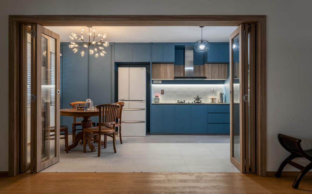 Contemporary, HDB, Kitchen, Serangoon Central, Interior Designer, Zenith Arc, Modern, Open Kitchen