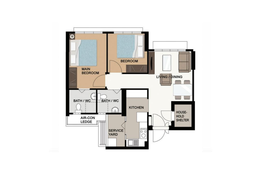 canberra bto hdb layout inspiration design