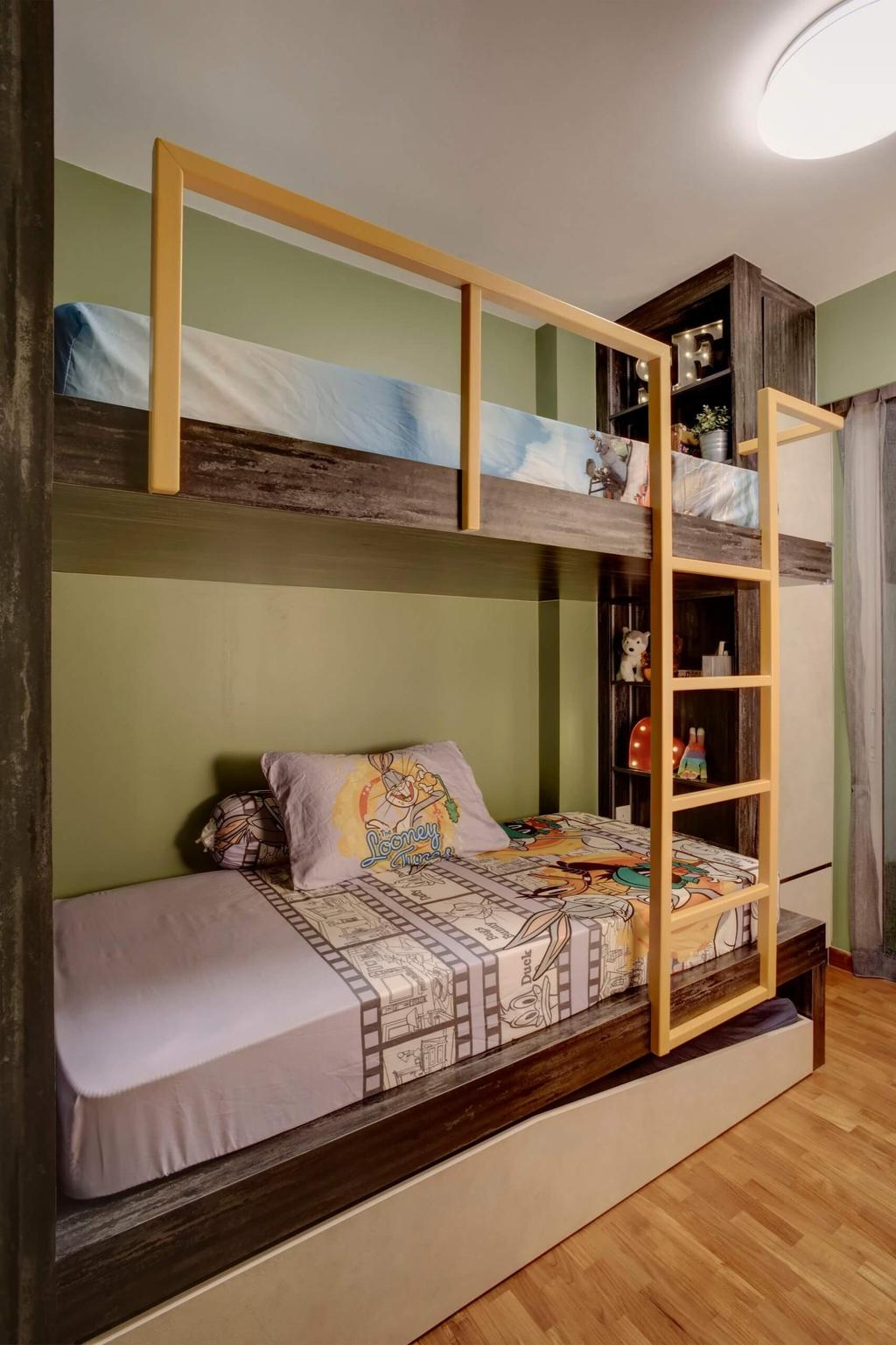 Contemporary, Condo, Bedroom, One Canberra, Interior Designer, Space Factor