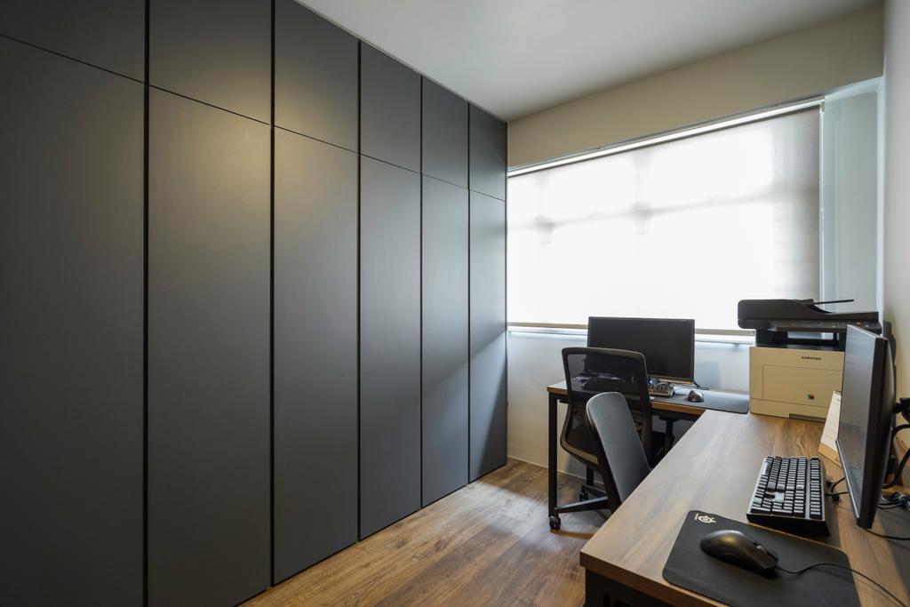 Modern, HDB, Study, Circuit Road, Interior Designer, Forefront Interior