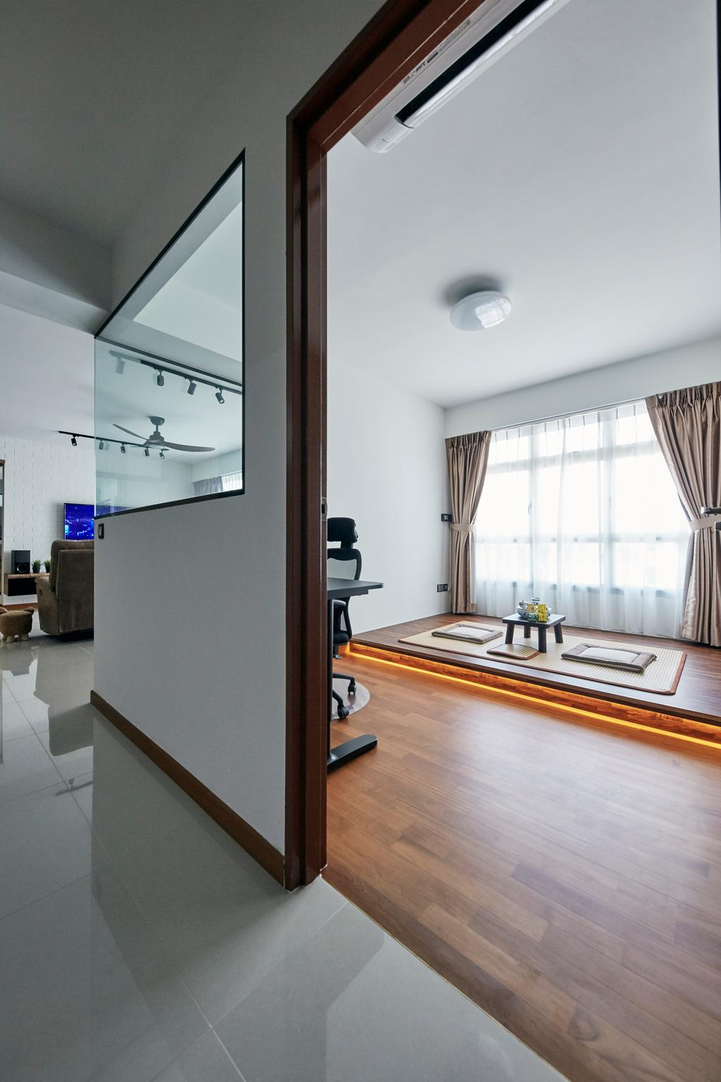 Contemporary, HDB, Study, Sumang Walk, Interior Designer, SHE Interior