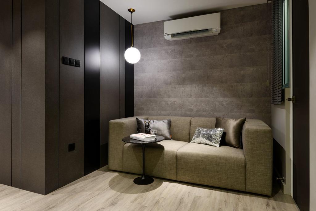 Contemporary, Condo, Living Room, Tropicana Bay Residences, Interior Designer, Nevermore Group