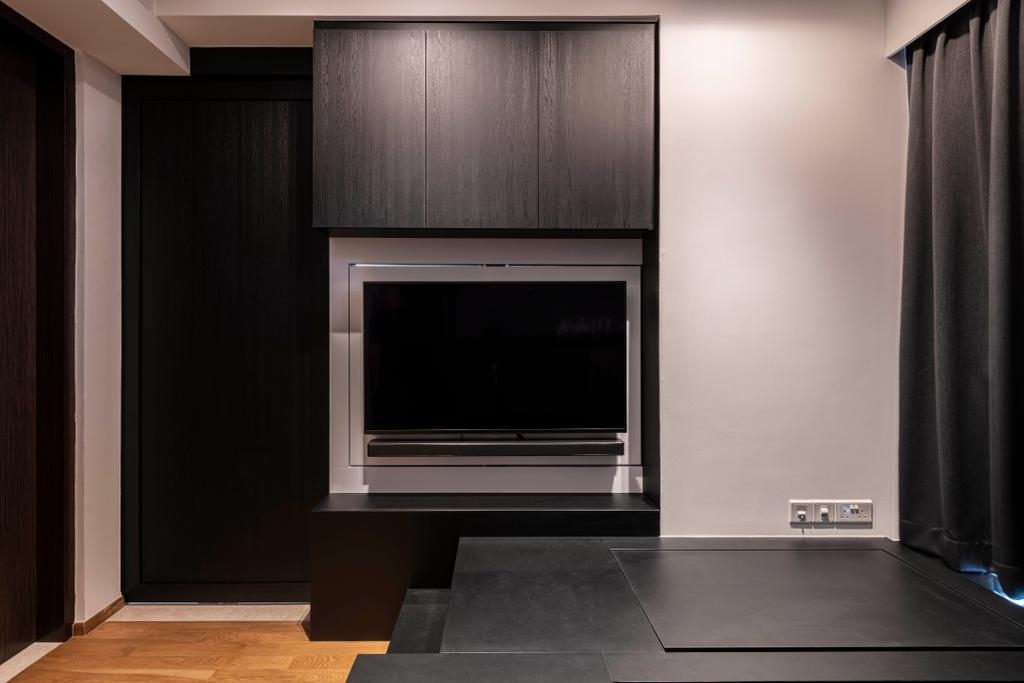 Contemporary, Condo, Bedroom, Botanique at Bartley, Interior Designer, The Makers Design Studio