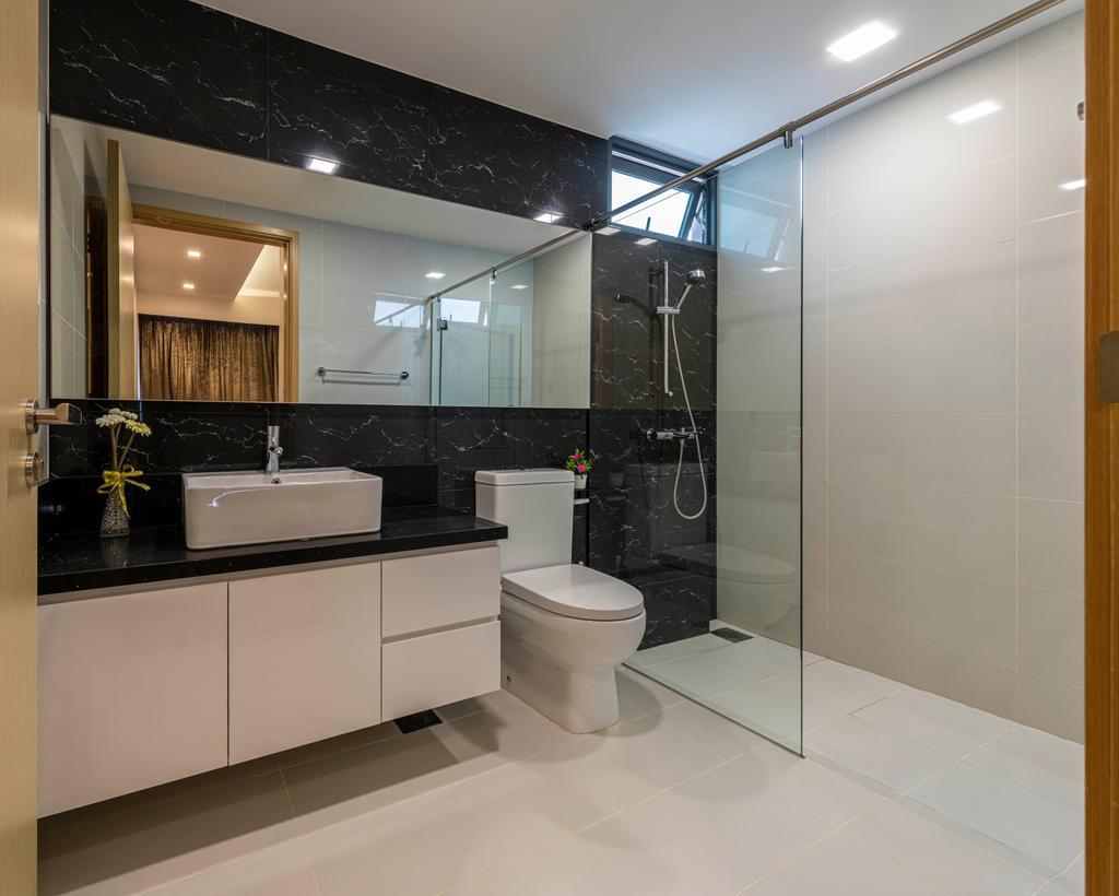 Contemporary, Condo, Bathroom, Esparina Residences, Interior Designer, Swiss Interior Design