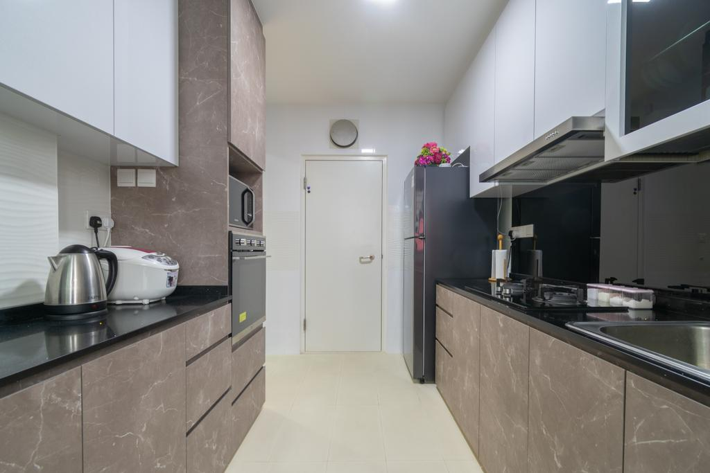 Contemporary, HDB, Kitchen, Bukit Batok West Ave 6, Interior Designer, Yang's Inspiration Design