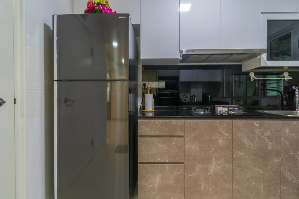 Contemporary, HDB, Kitchen, Bukit Batok West Ave 6, Interior Designer, Yang's Inspiration Design