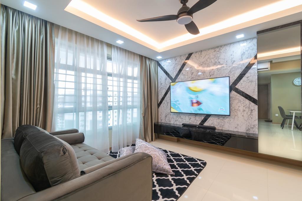 Contemporary, HDB, Living Room, Bukit Batok West Ave 6, Interior Designer, Yang's Inspiration Design