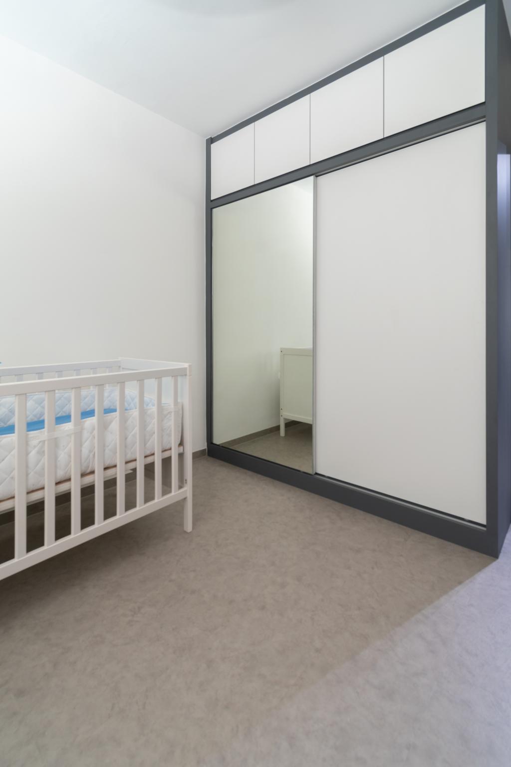 Minimalist, HDB, Bedroom, Bedok Reservoir Road, Interior Designer, Yang's Inspiration Design, Contemporary