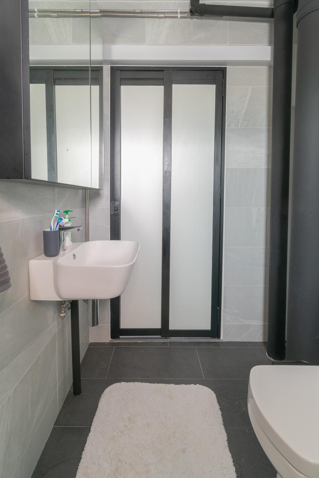 Minimalist, HDB, Bathroom, Bedok Reservoir Road, Interior Designer, Yang's Inspiration Design, Contemporary