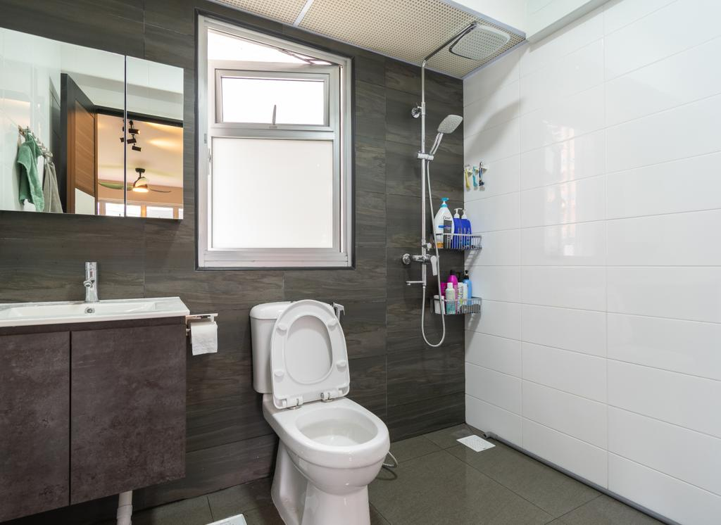 Contemporary, HDB, Bathroom, Bukit Batok West Avenue 8, Interior Designer, Yang's Inspiration Design