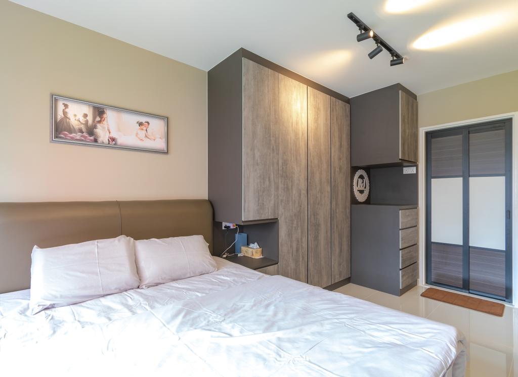 Contemporary, HDB, Bedroom, Bukit Batok West Avenue 8, Interior Designer, Yang's Inspiration Design