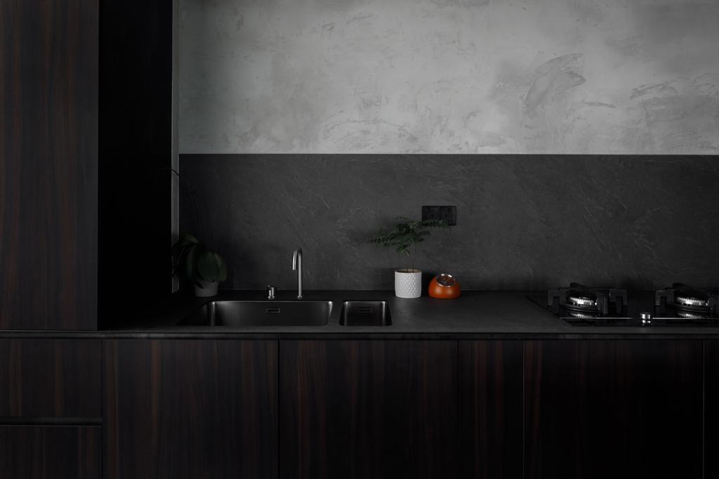 Contemporary, HDB, Kitchen, Tampines (Block 494), Interior Designer, The Local INN.terior 新家室