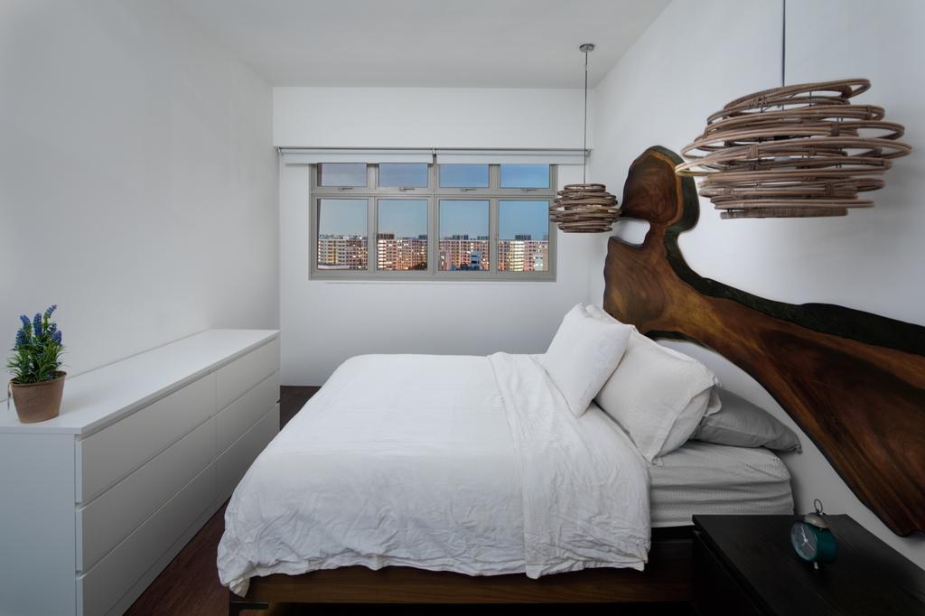 Contemporary, HDB, Bedroom, Tampines (Block 494), Interior Designer, The Local INN.terior 新家室