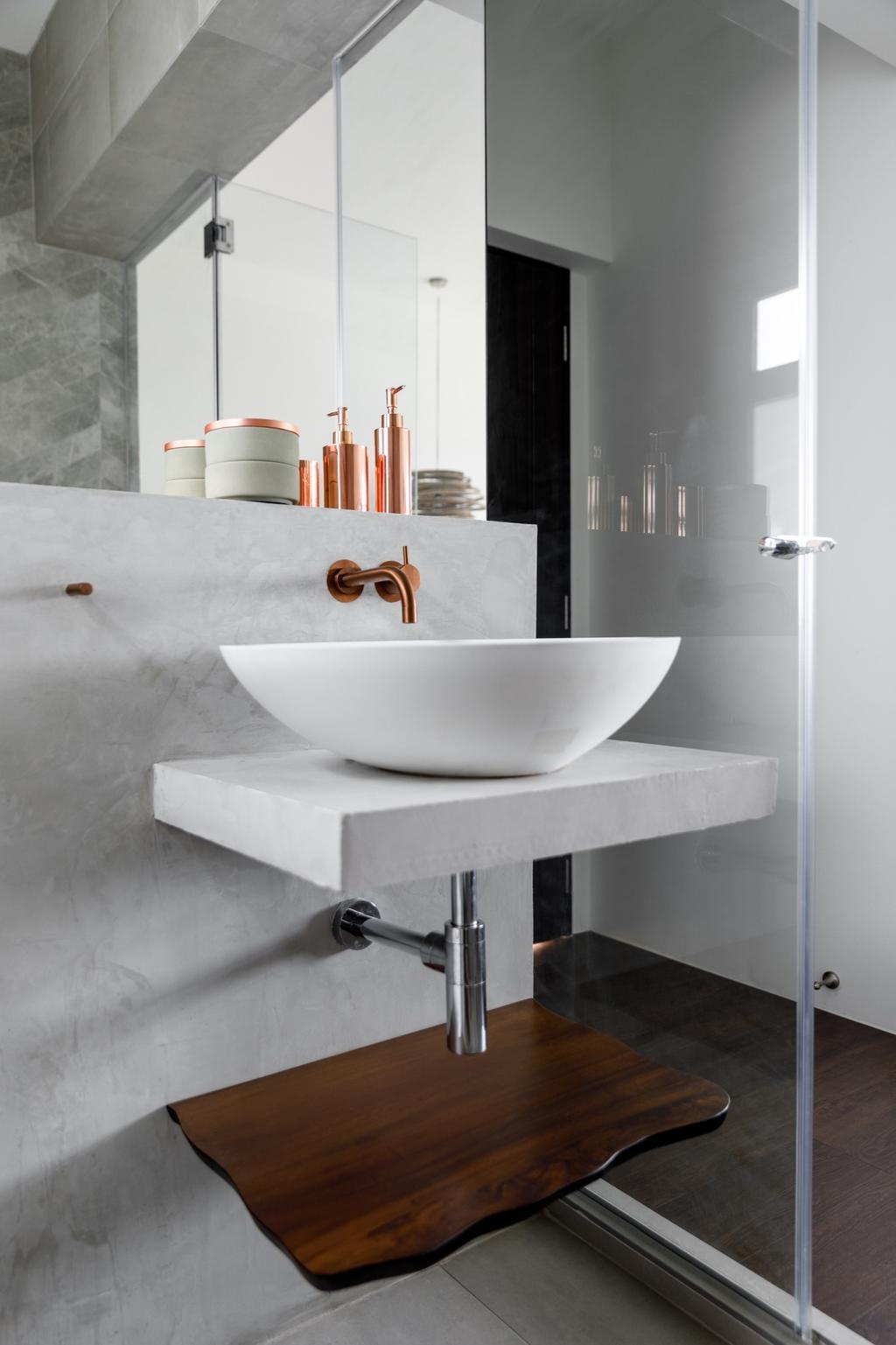 Contemporary, HDB, Bathroom, Tampines (Block 494), Interior Designer, The Local INN.terior 新家室