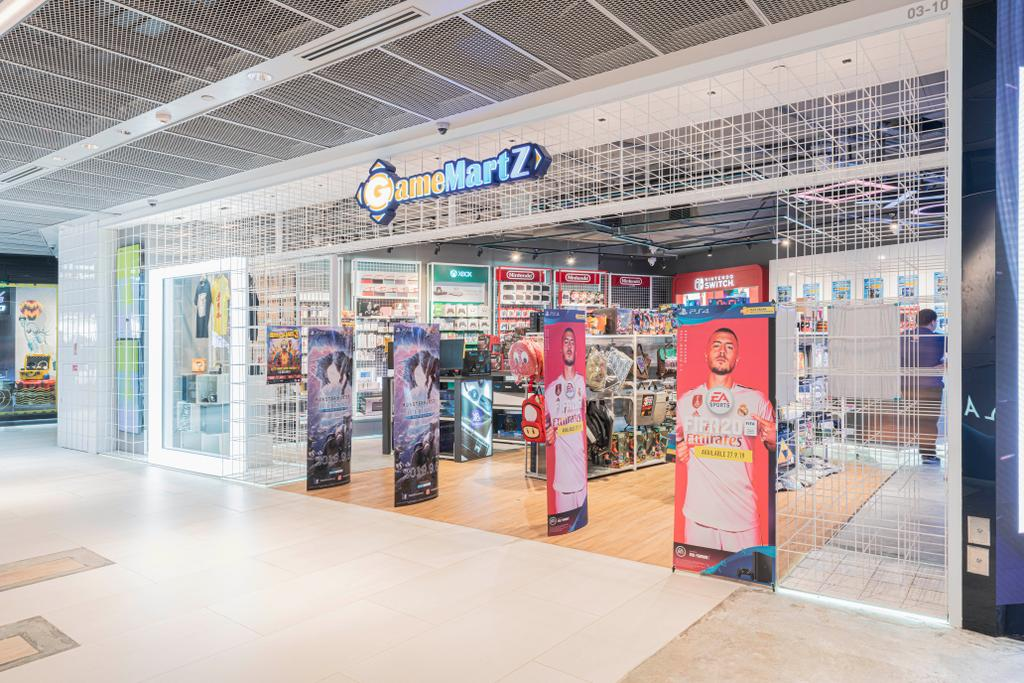 North Bridge Road @ Funan Mall, Commercial, Interior Designer, Minutiae, Industrial