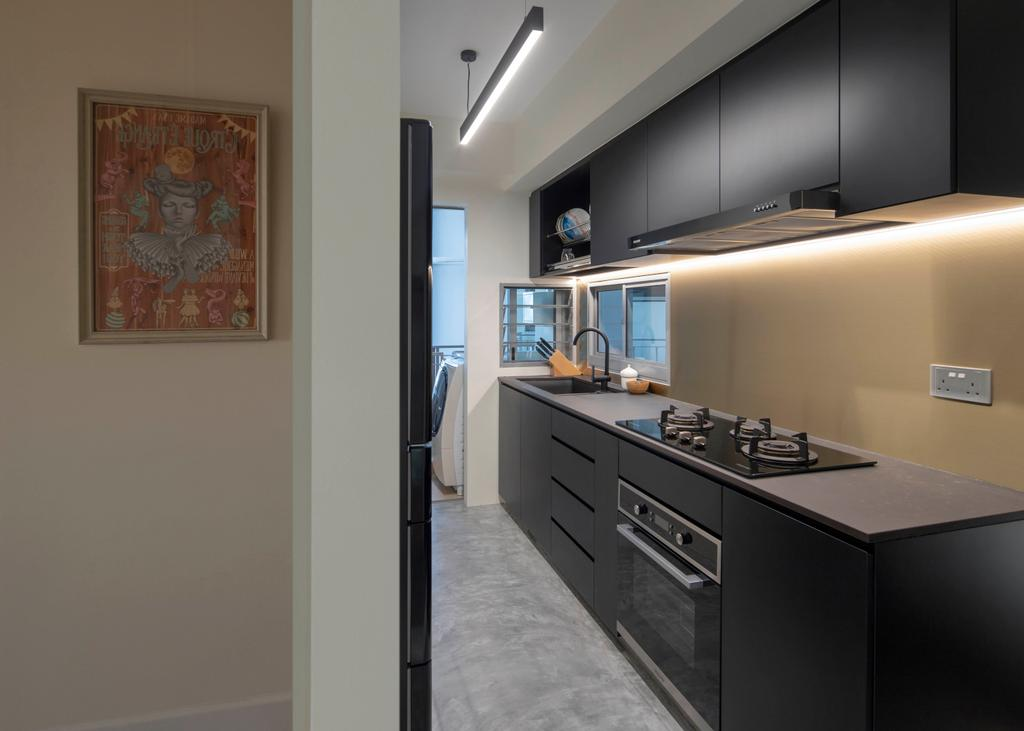 Contemporary, Condo, Kitchen, City View, Interior Designer, Versaform