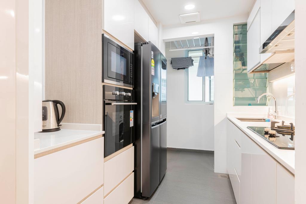 Contemporary, Condo, Kitchen, Guilin View, Interior Designer, Omni Design