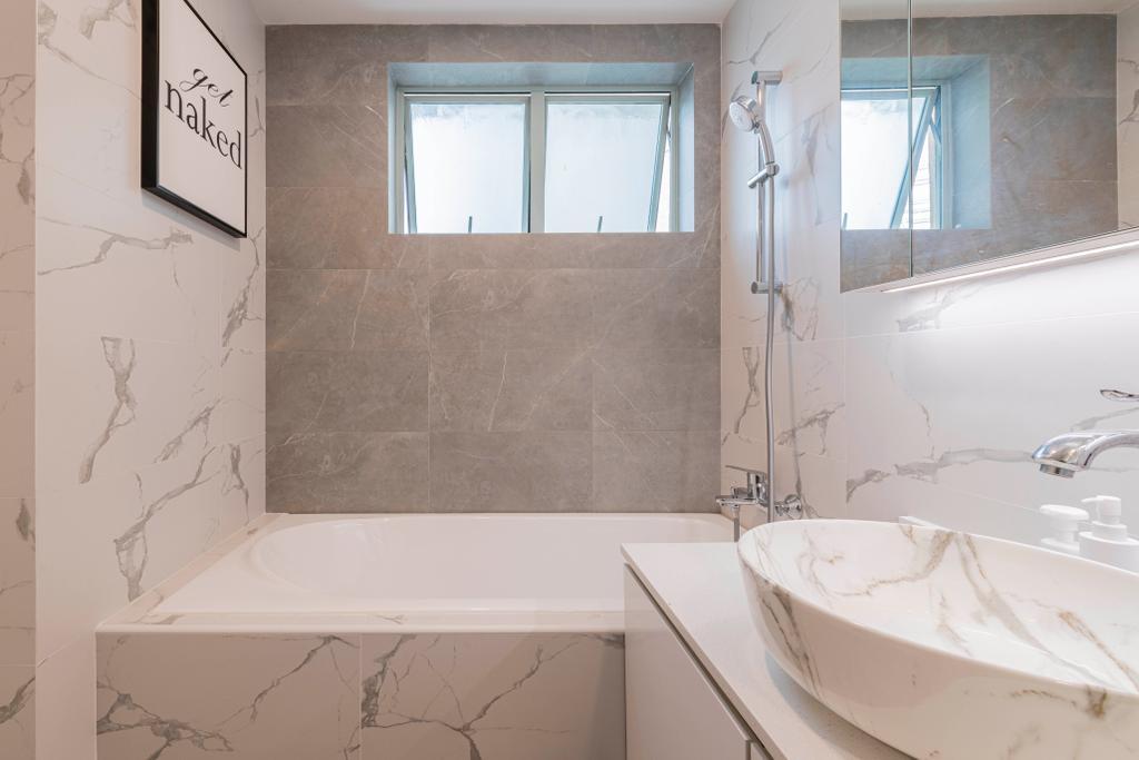 Contemporary, Condo, Bathroom, Guilin View, Interior Designer, Omni Design